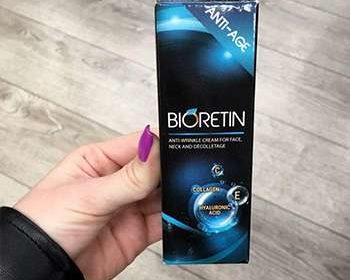 Внешний вид упаковки Биоретин для омоложения