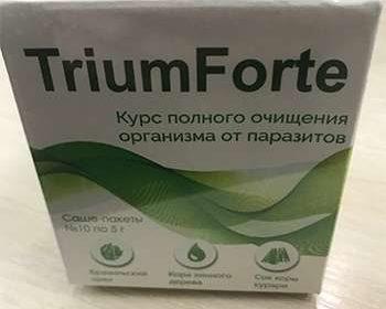 Препарат ТриумФорте на столе