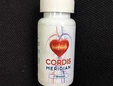 Внешний вид упаковки средства Cordis Meridian.