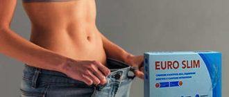 Капсулы Euro Slim для похудения.
